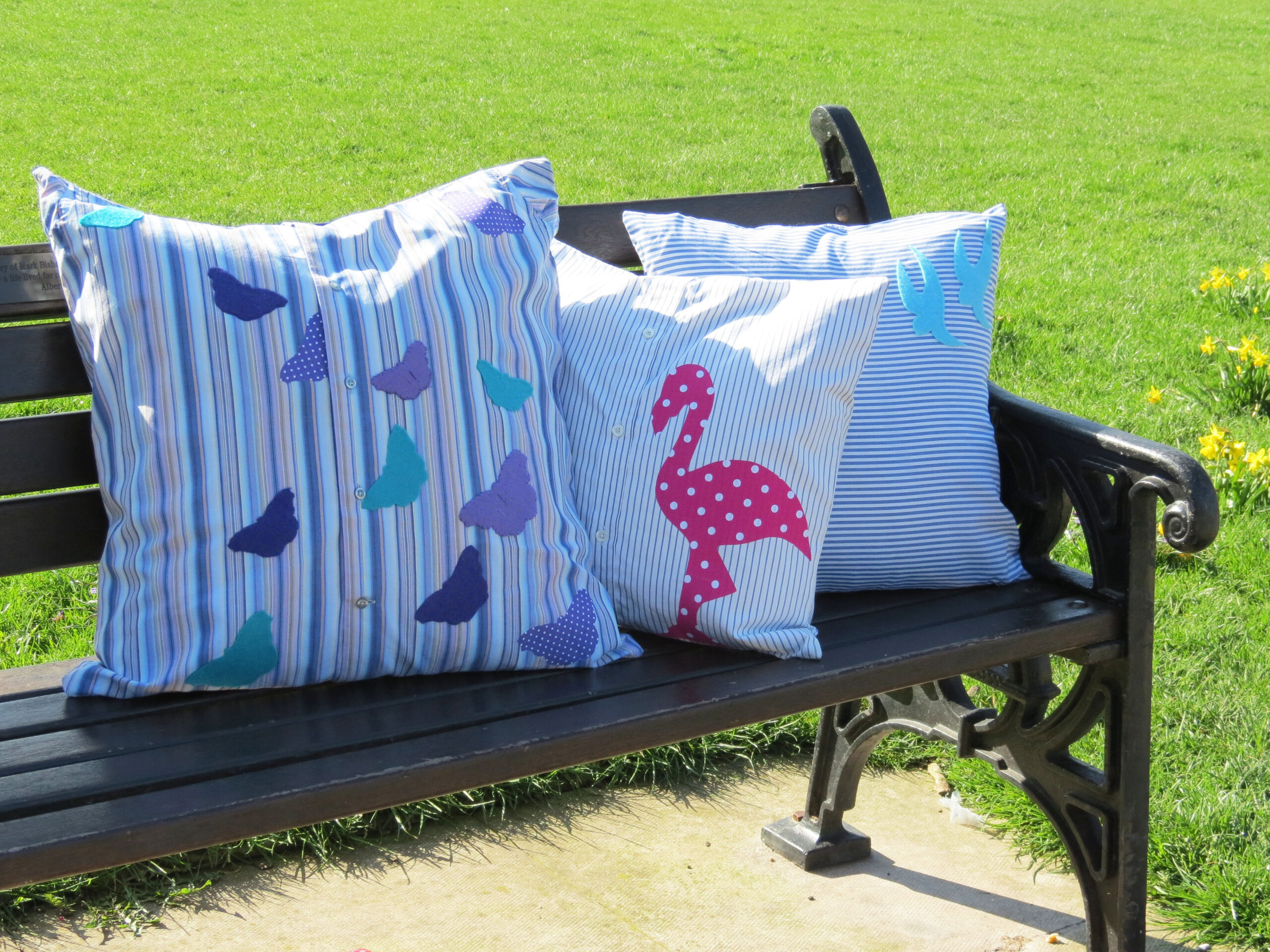 Patch It cushions