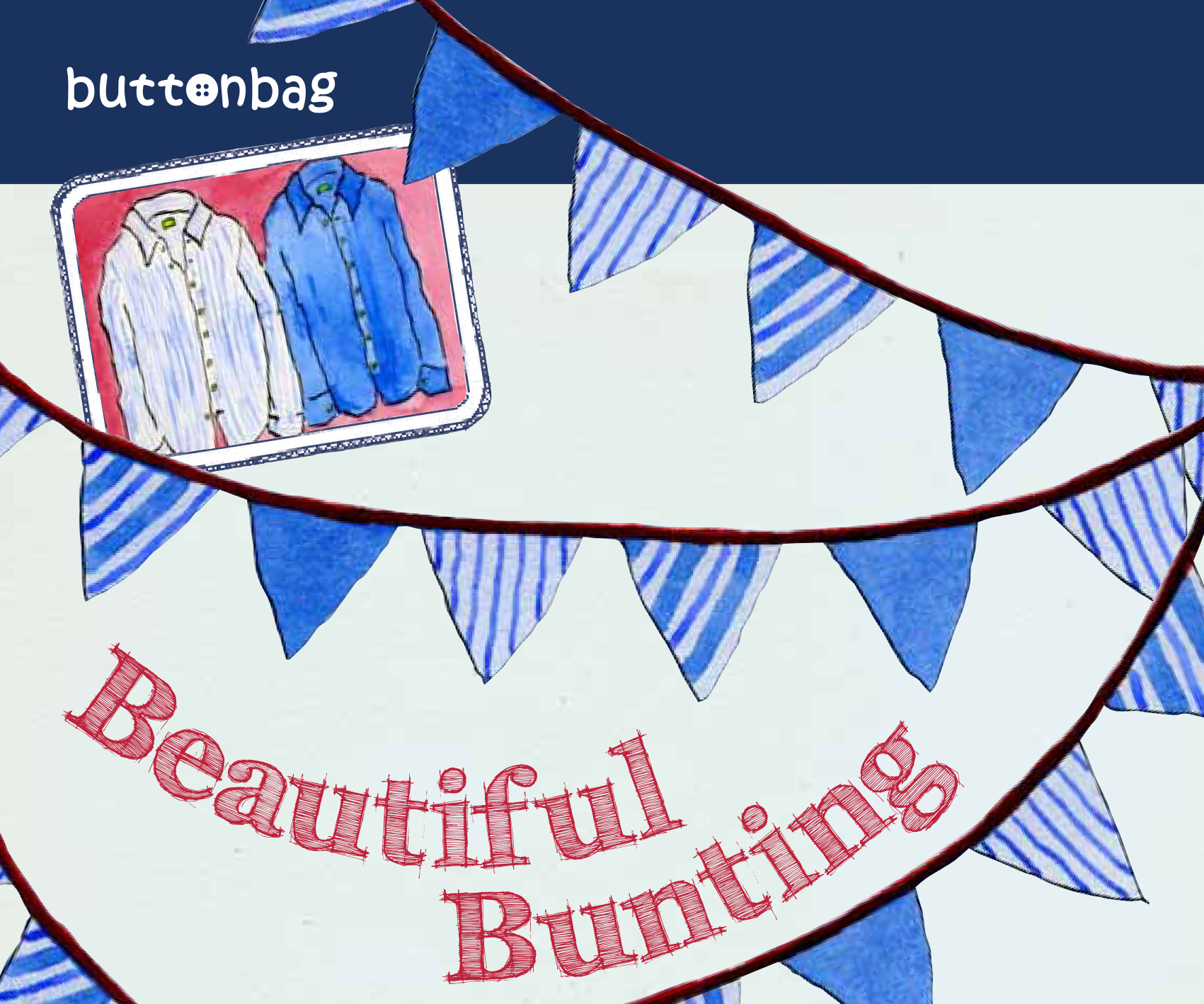 bunting blog no words